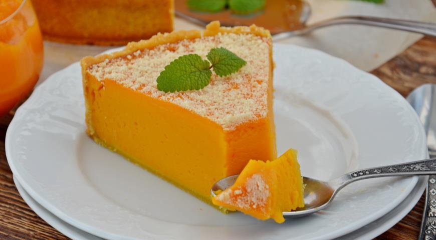 вкусный пирог из тыквы рецепт с фото