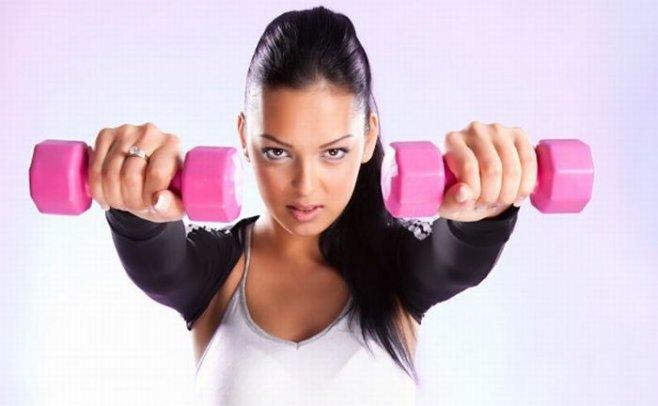 Комплексная тренировка для похудения и тонуса мышц