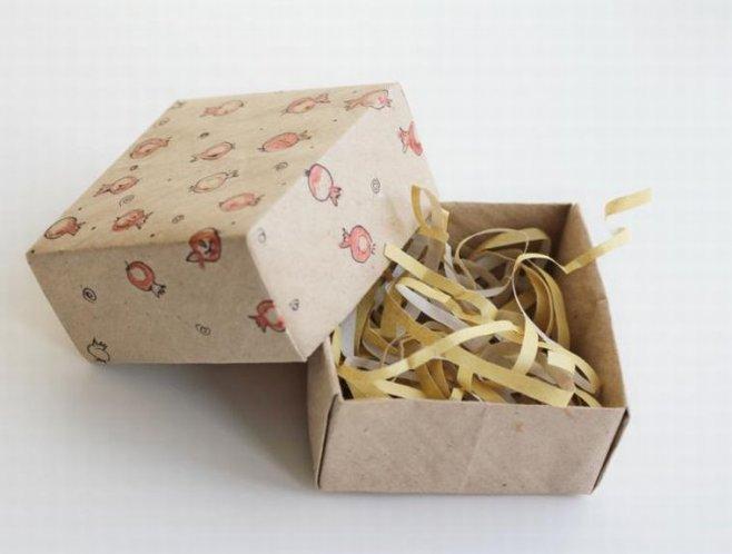 Делаем подарочную коробочку своими руками