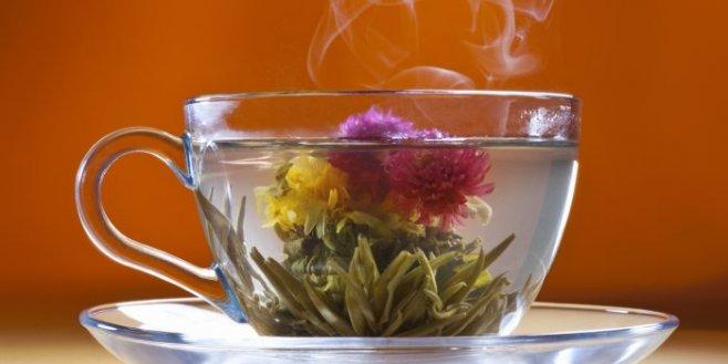 Готовим очень красивый  связанный чай