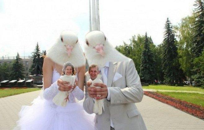 Свадебный фотошоп из 2000-х