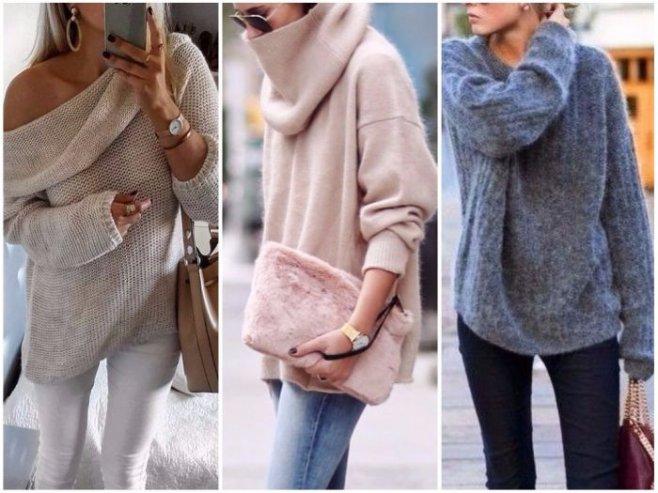 Модные женские свитера Осень - Зима 2019