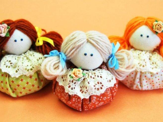 Мастер - класс : Как сделать Куклу Зерновушку