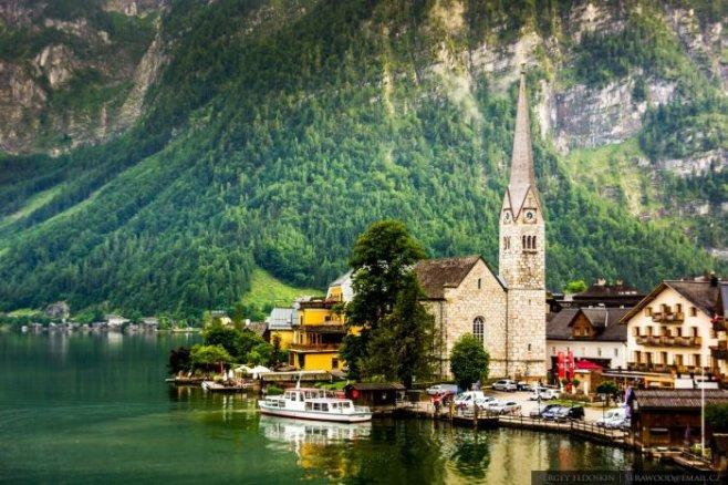 Путешествие по деревушке Гальштат - это сказка в Австрии
