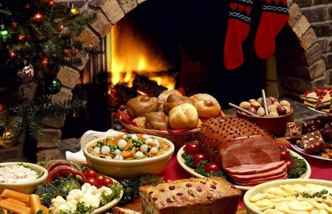 Как не переедать на Новогодние праздники