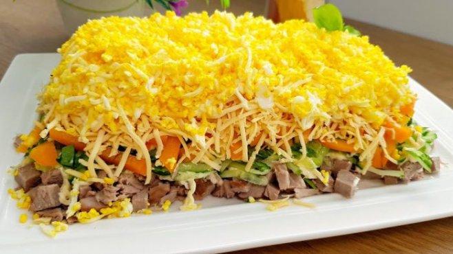 Необычно вкусные салаты с курицей, которые взорвут ваши рецепторы!