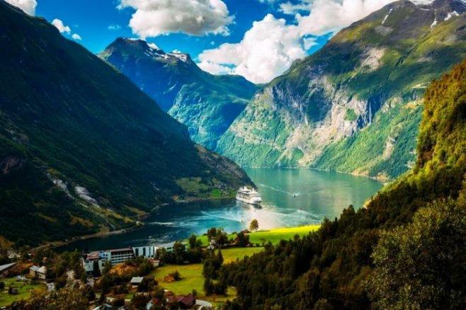 Норвегия - незабываемое чудо природы