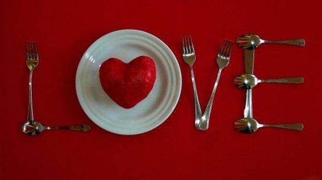 Романтическое блюдо на День Св.Валентина
