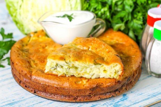 Пирог с капустой. Самый простой и вкусный рецепт