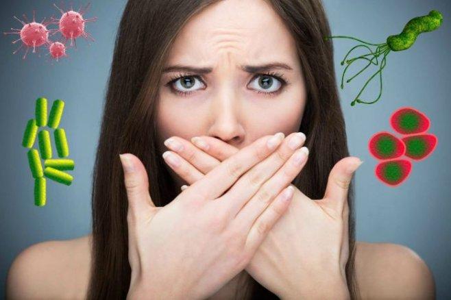 Неприятный запах изо рта как симптом