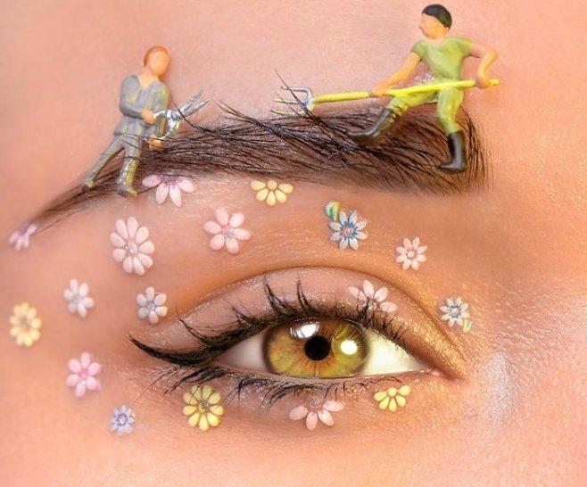 Макияж для зеленых глаз - важные нюансы и техника нанесения